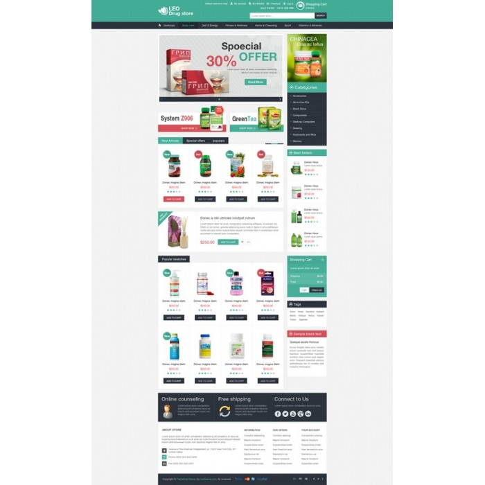 theme - Salud y Belleza - Leo Drug Store - 4