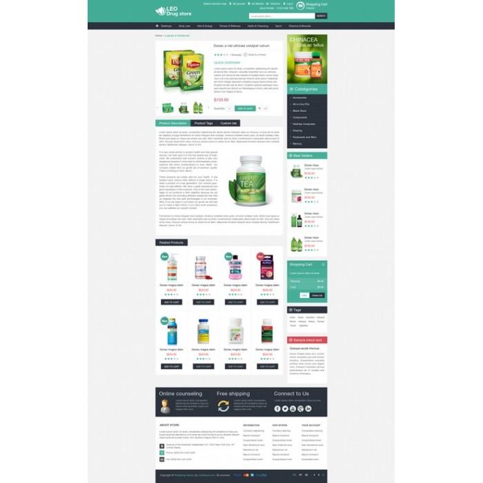 theme - Здоровье и красота - Leo Drug Store - 8
