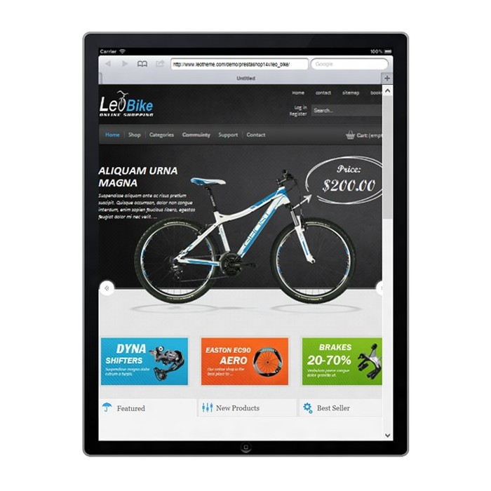 theme - Sports, Activities & Travel - Leo Bike - 4