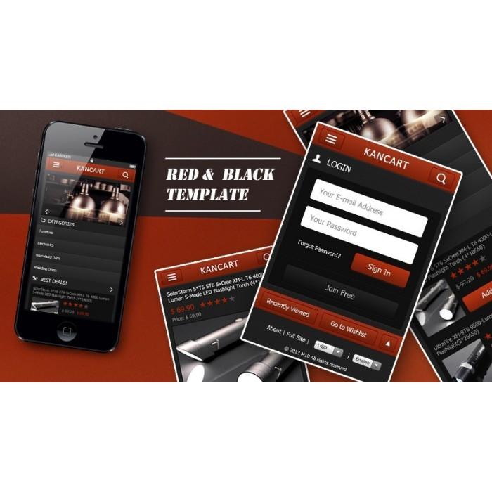 module - Dispositivos móviles - Kancart Freemium HTML5 Mobile & APP - 2