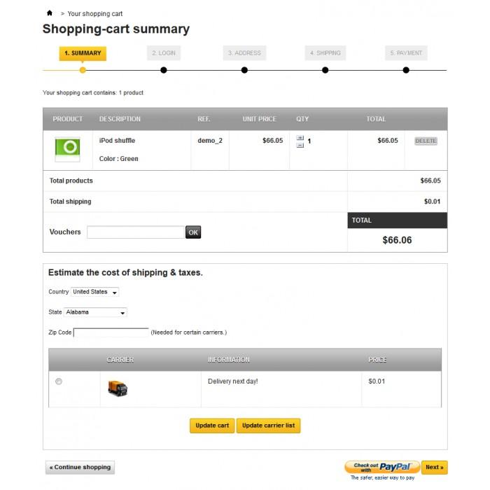 module - Creditcardbetaling of Walletbetaling -  - 7