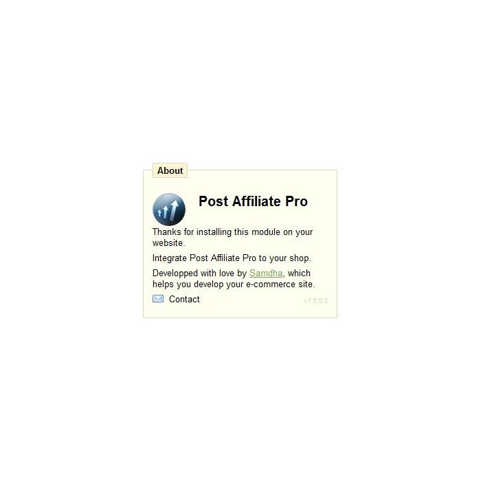 module - Платная поисковая оптимизация - Post Affiliate Pro - 3