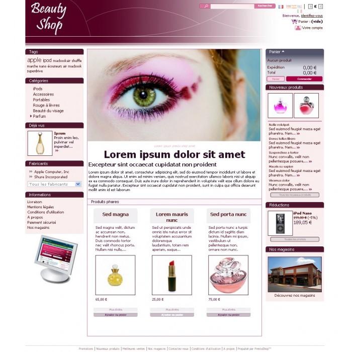 theme - Beauté & Bijoux - Beauty shop (PS 1.4) - 1