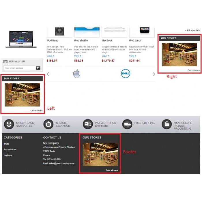 module - Международный рынок и геолокация - Store location in Google maps - 2