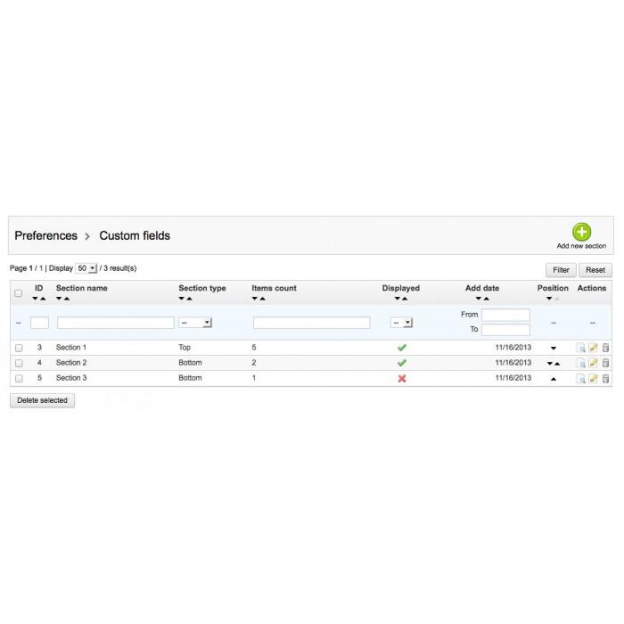 module - Registration & Ordering Process - Custom Fields - 35