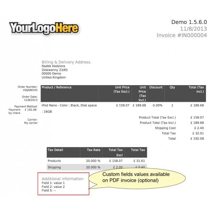 module - Registration & Ordering Process - Custom Fields - 39