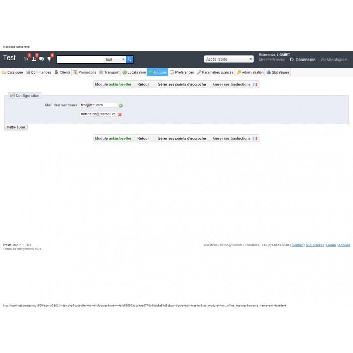 module - Formularz kontaktowy & Ankiety - Ask Infos Seller - 3