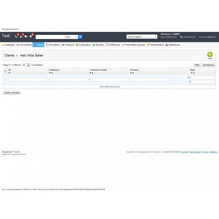 module - Formularz kontaktowy & Ankiety - Ask Infos Seller - 4