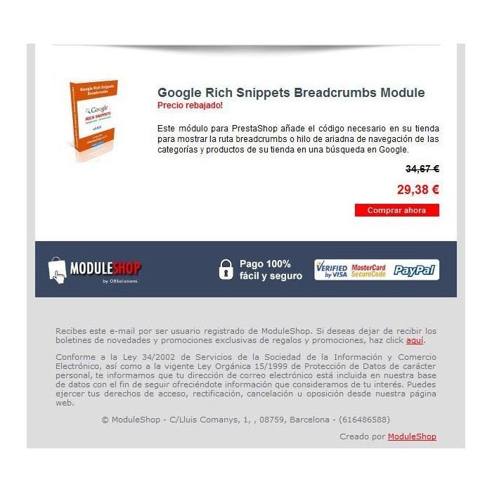 module - Newsletter y SMS - Newsletter Maker Pro - 3
