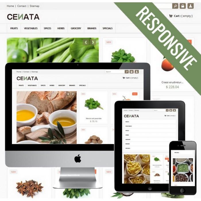 theme - Продовольствие и рестораны - Cenata new - 1