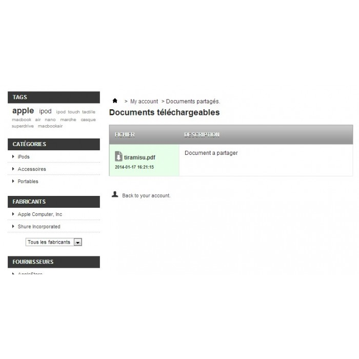 module - Kundenverwaltung - Document Sharing - 14