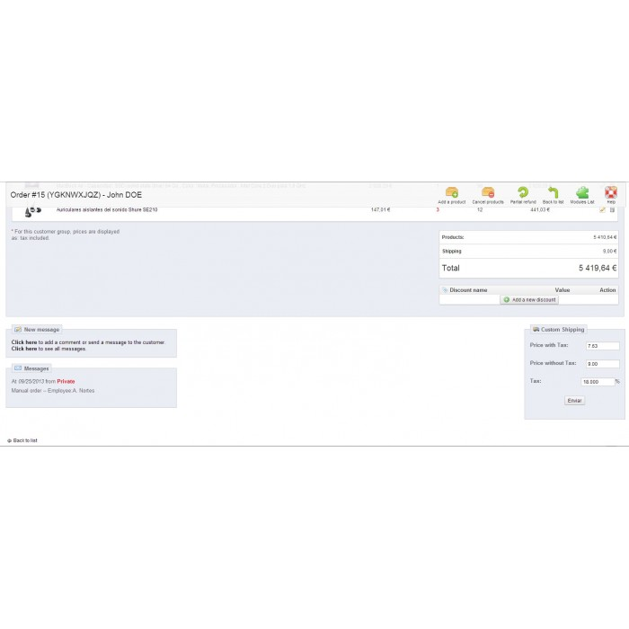 module - Gastos de transporte - Gastos de envío personalizables - 2