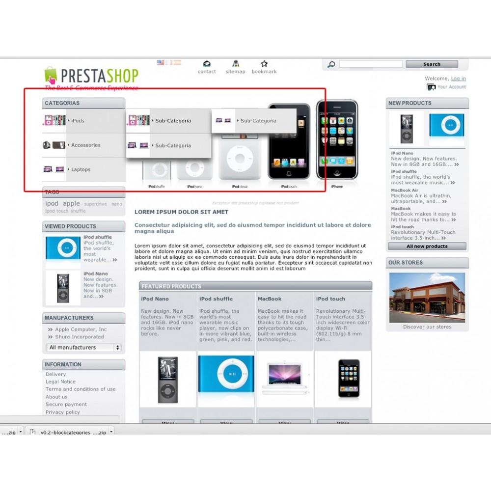 module - Menú - Menú de categorías vertical con imágenes - 1