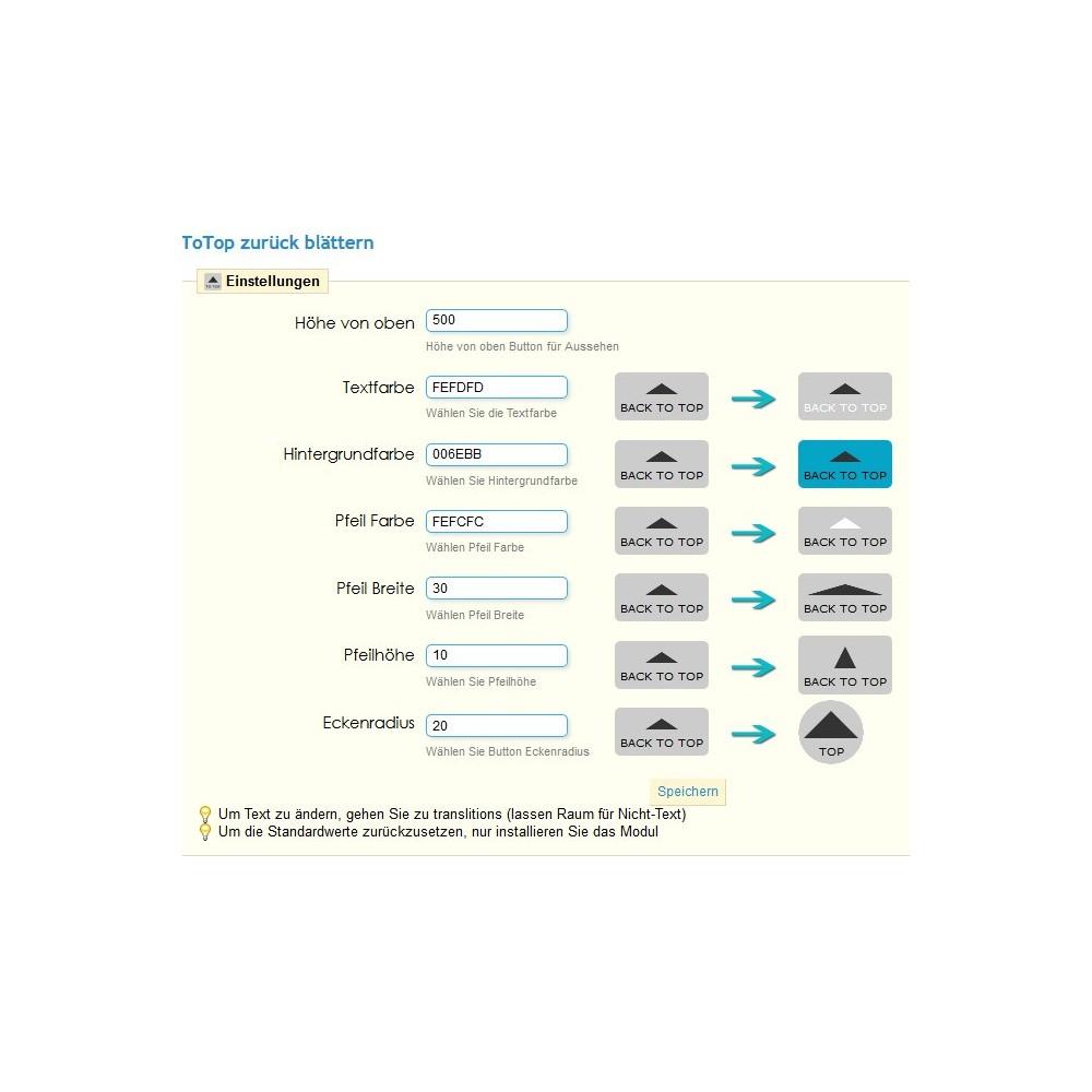 module - Navigationstools - ToTop - zurück blättern nach oben ( scroll top ) - 4