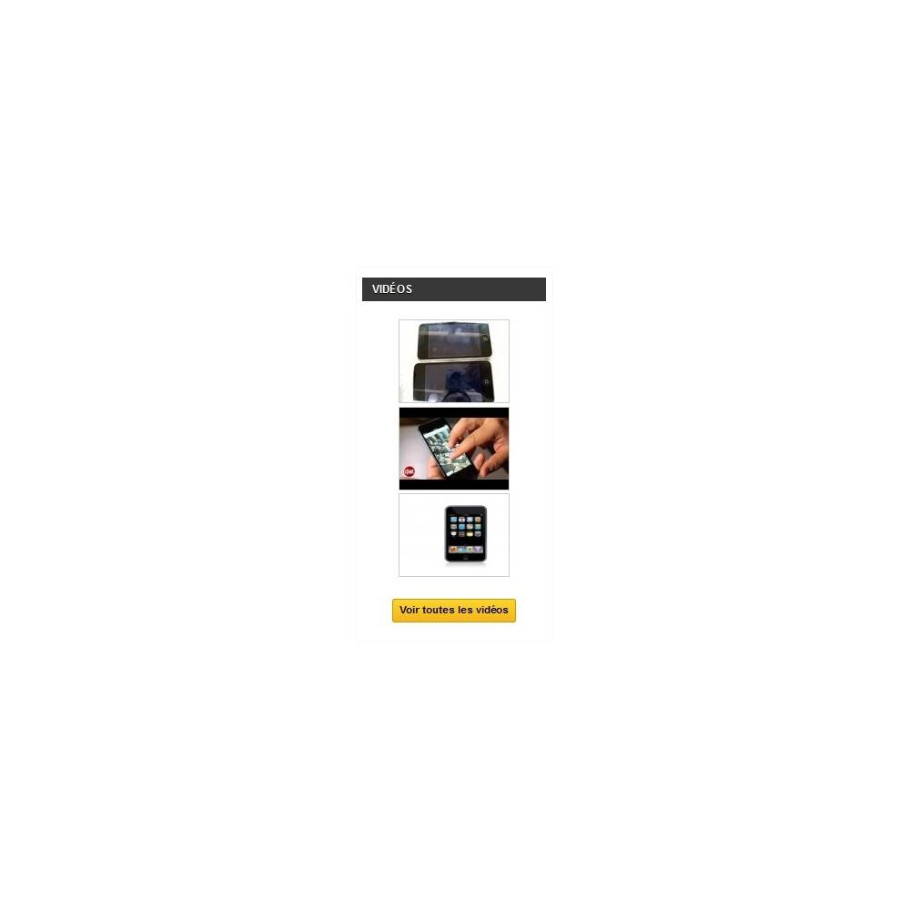 module - Vidéo & Musique - Videos Manager - Le module de streaming vidéos - 3