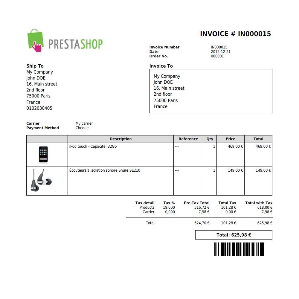 module - Импорт и Экспорт данных - M4 PDF Extensions - 13