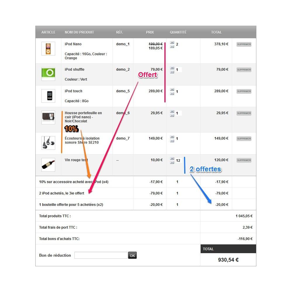 module - Promotions & Cadeaux - Maxi-Promos - Promotions et Réductions Commerciales - 4