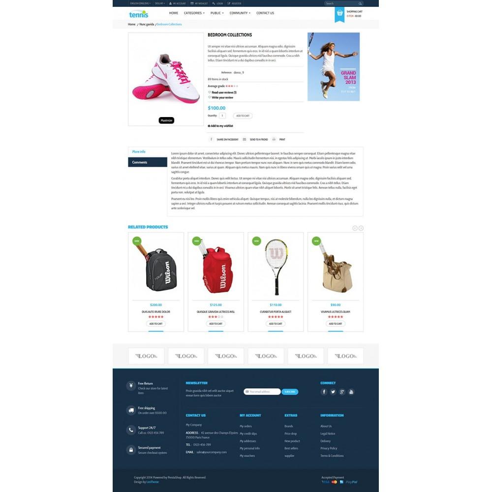 theme - Sports, Activities & Travel - Leo Tennis - 3