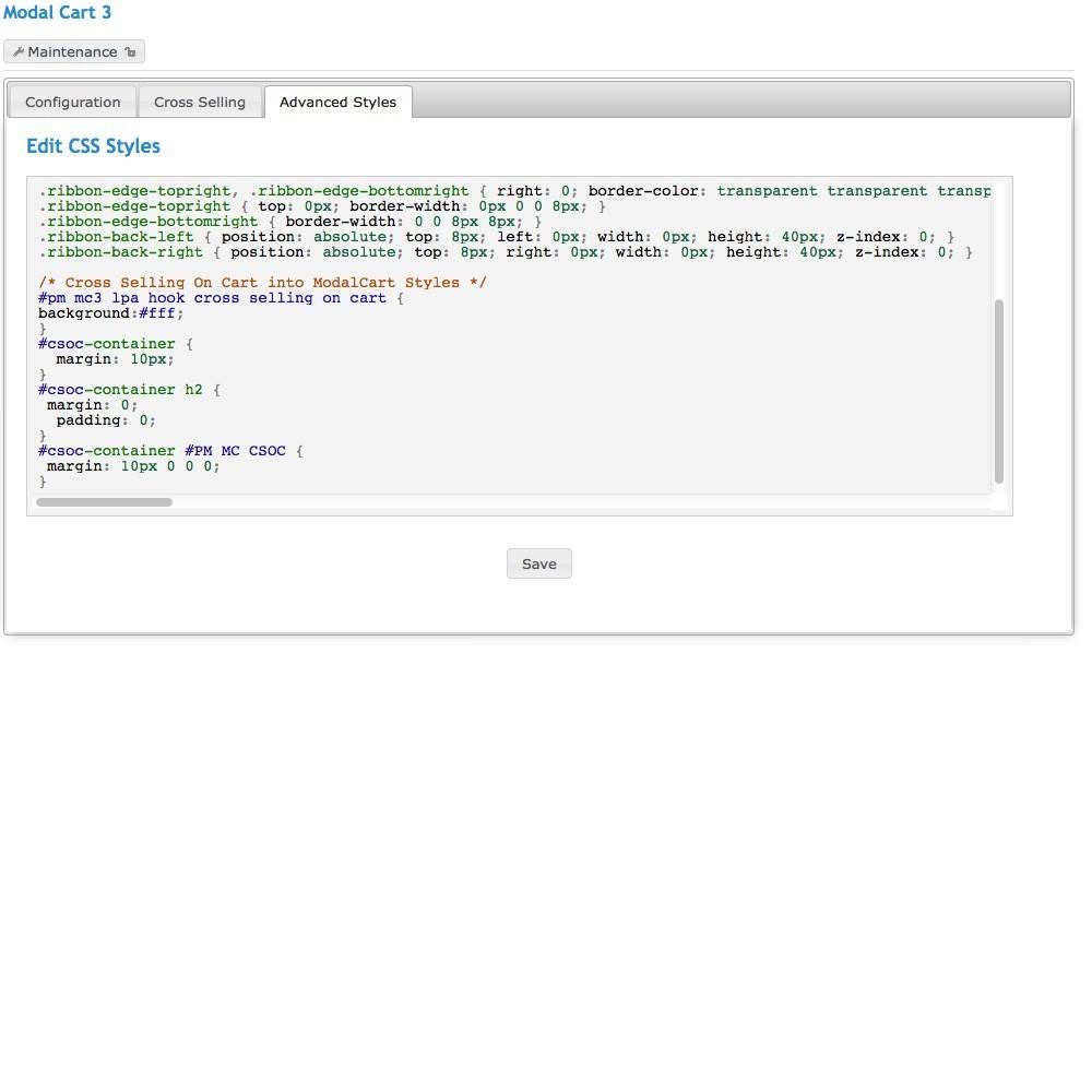 module - Ordering Process - Modal Cart 3 - 12
