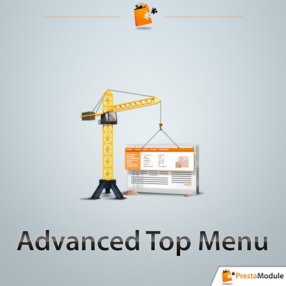 module - Menü - Advanced Top Menu - Responsive - 1