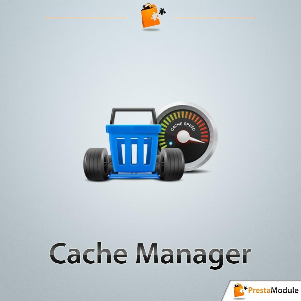 module - Performance du Site - Cache Manager - Réduit le temps de chargement des pages - 1