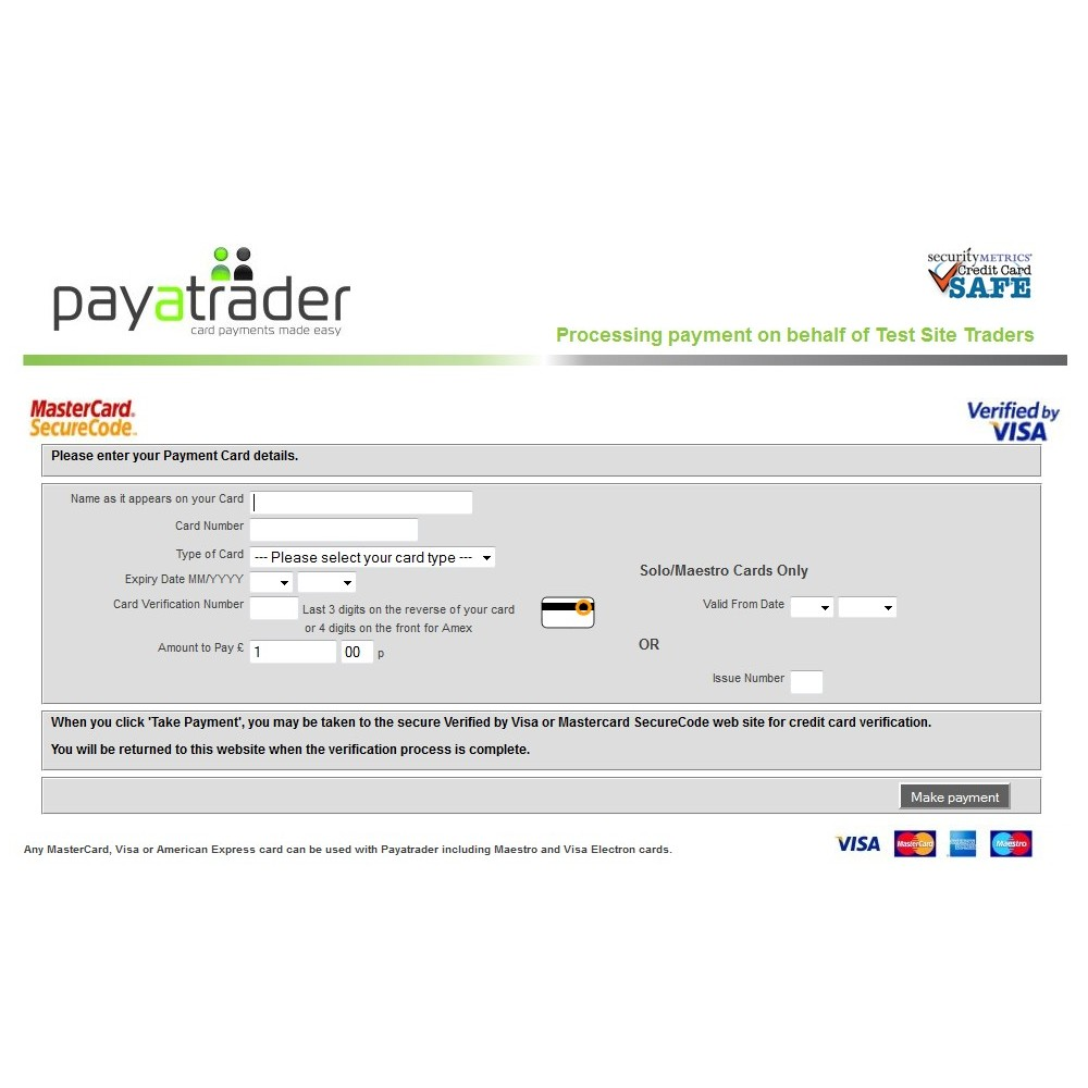 module - Paiement par Carte ou Wallet - Paya Card Services payment solution - 6