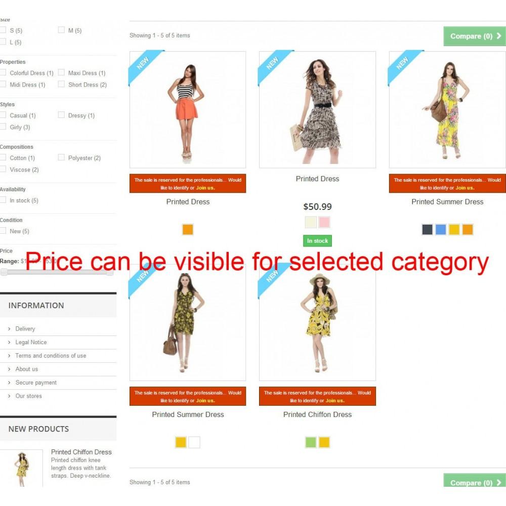 module - Price Management - Price hide Pro - 3