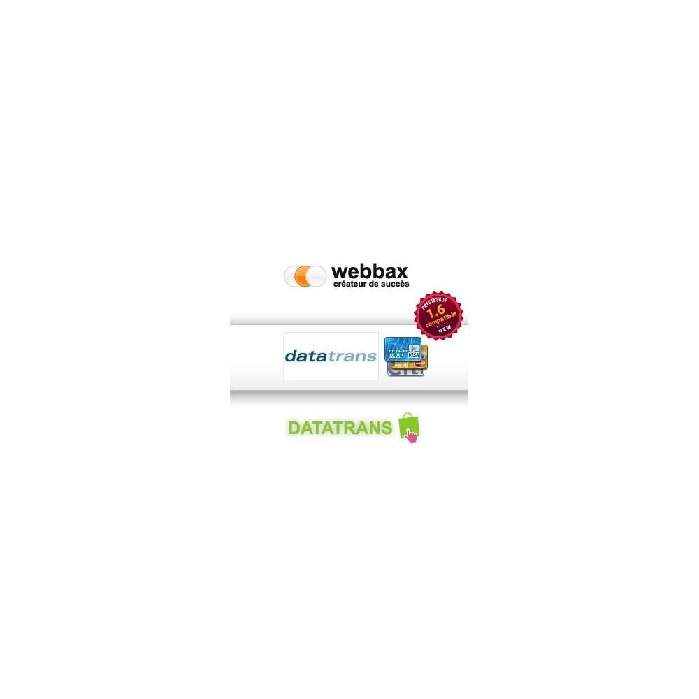 module - Paiement par Carte ou Wallet - Datatrans - Prestashop 1.5 & 1.6 - 1