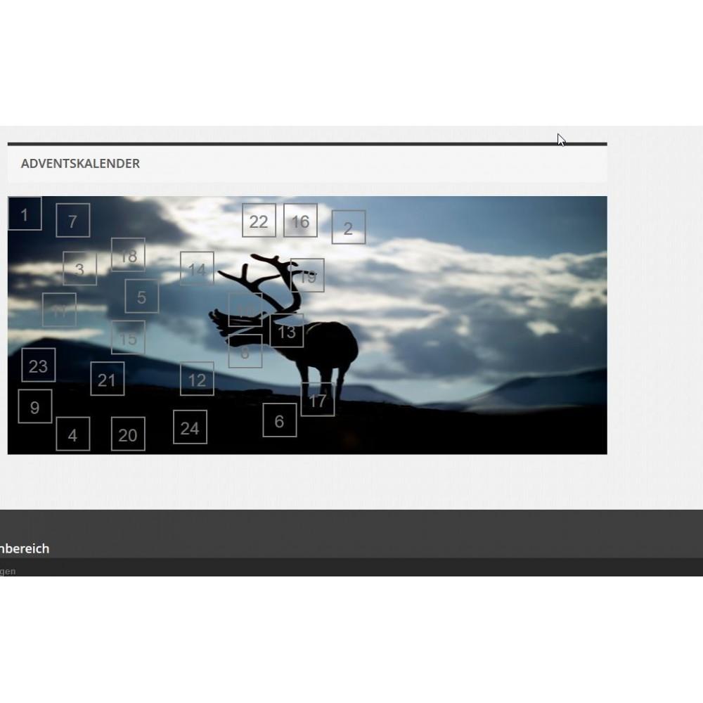 module - Page Customization - Advent Calendar / Christmas Calendar / Santa Calendar - 9