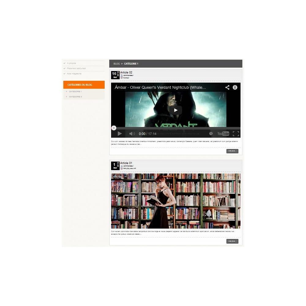 module - Blog, Forum & Actualités - Blog Article & Vidéo pour Prestashop - 4