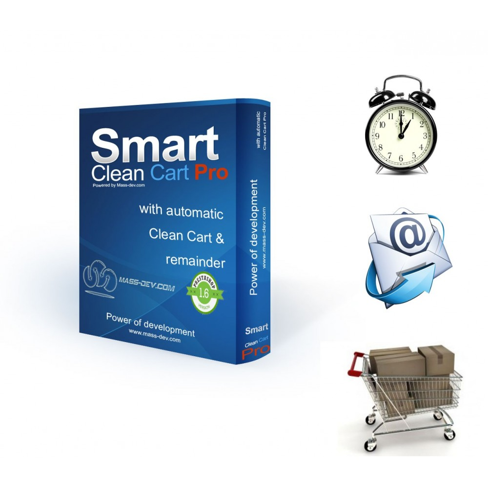 module - Remarketing & Shopping Cart Abandonment - Smart Clean Cart Pro - 1