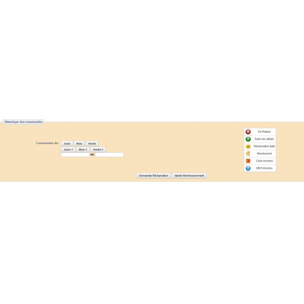 module - Suivi de livraison - Suivi la Poste - 2