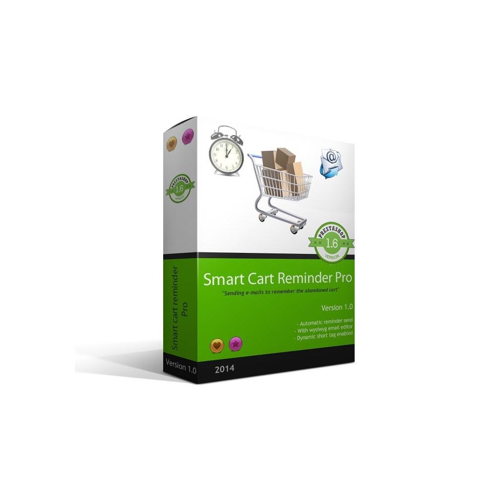 module - Remarketing & Paniers Abandonnés - Rappel Panier Pro / Smart Cart Reminder Pro - 1