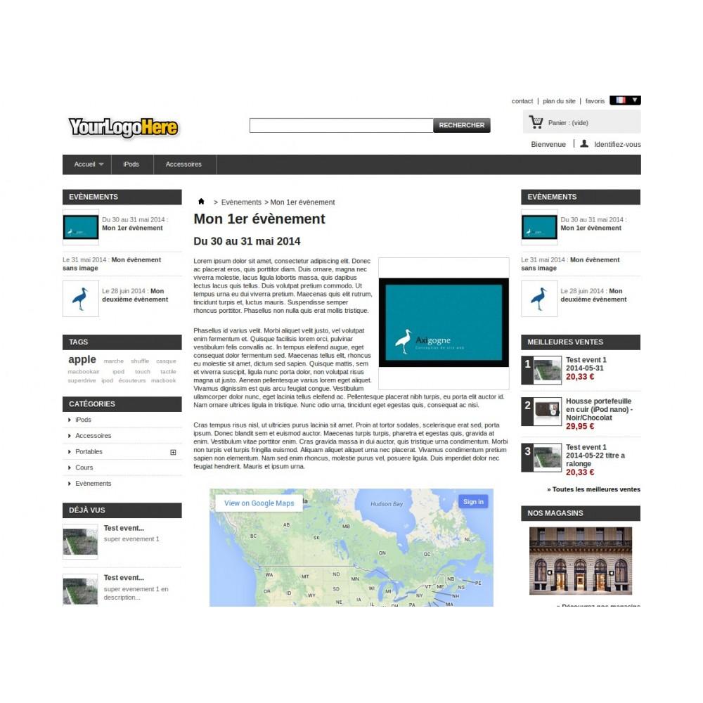 module - Blog, Forum & Actualités - Gestion d'évènements et d'annonces - 2