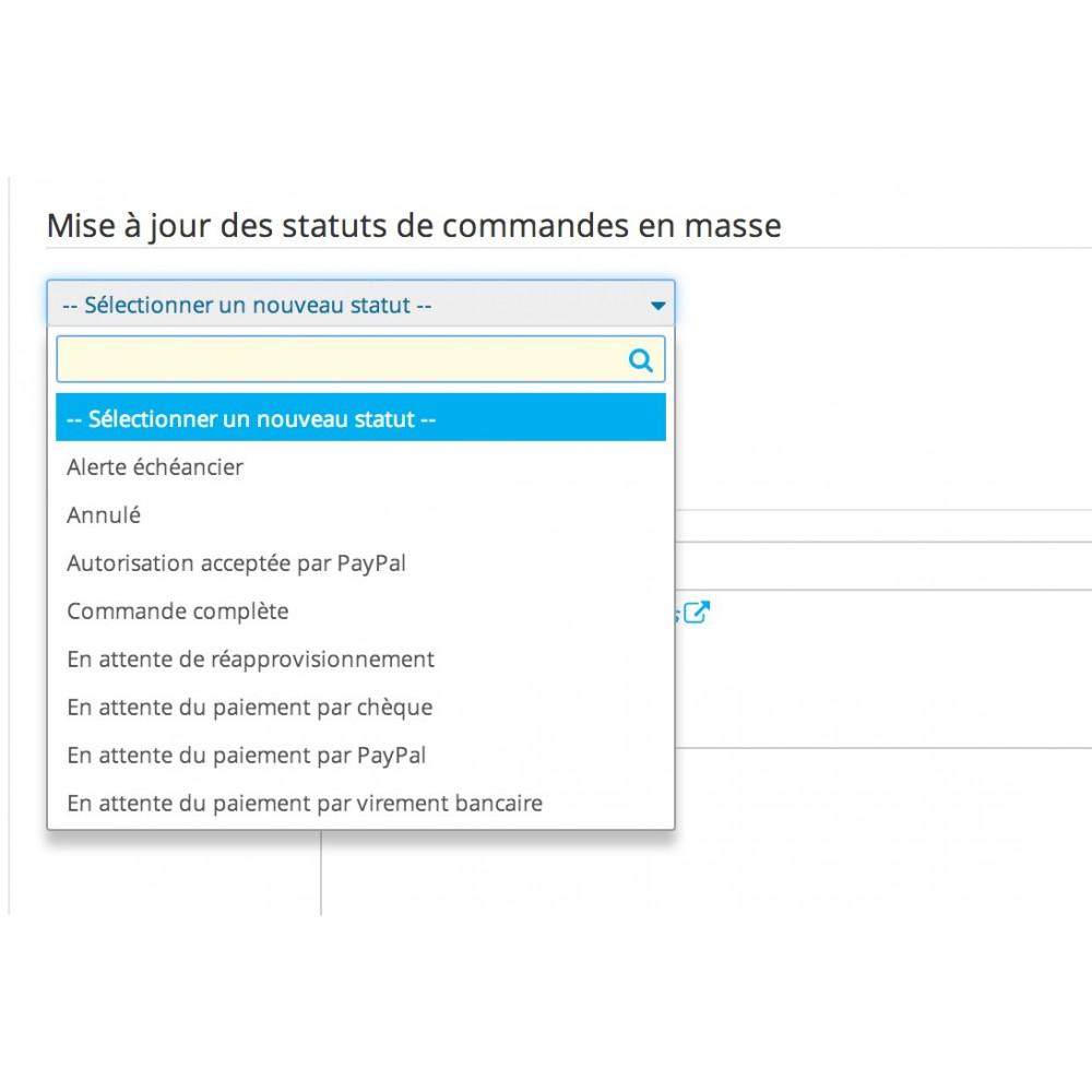 module - Edition rapide & Edition de masse - Mise à jours des statuts de commandes en masse - 14
