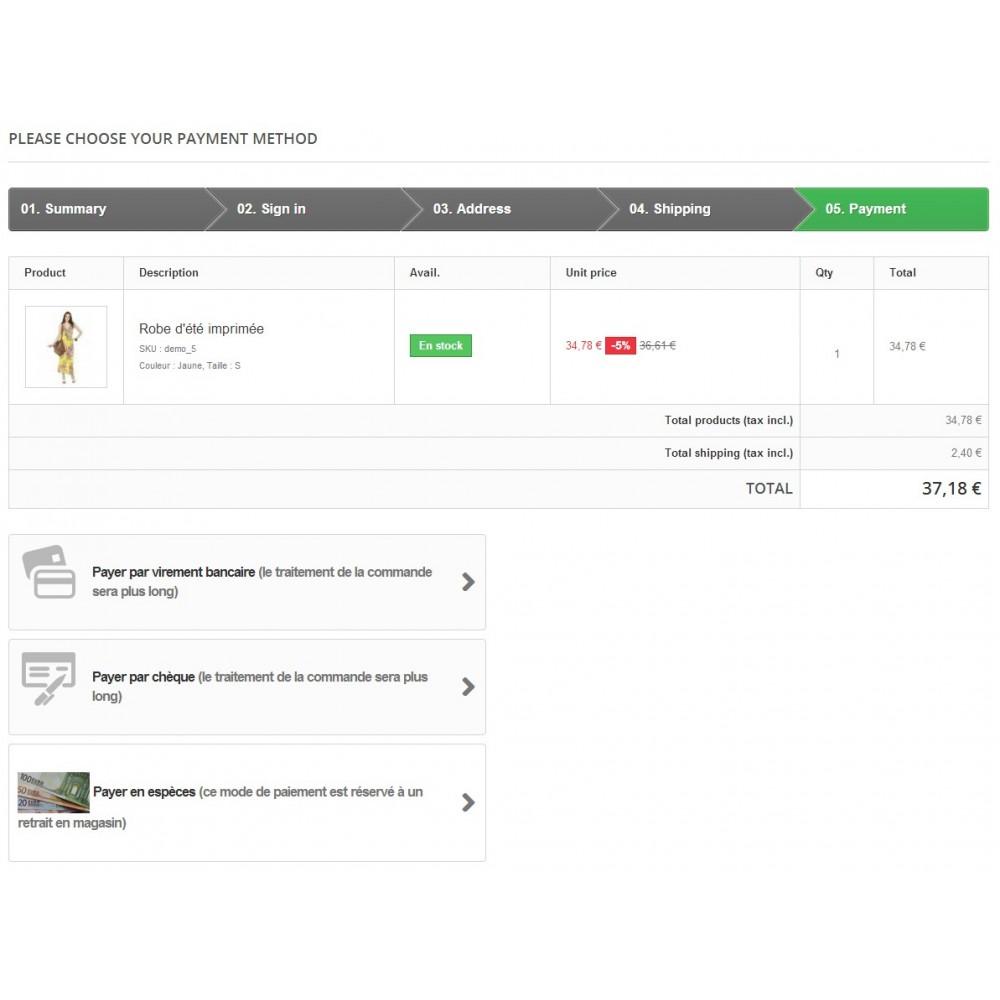 module - Payment in Physical Stores - Cash Payment / Paiement Espèces - 1