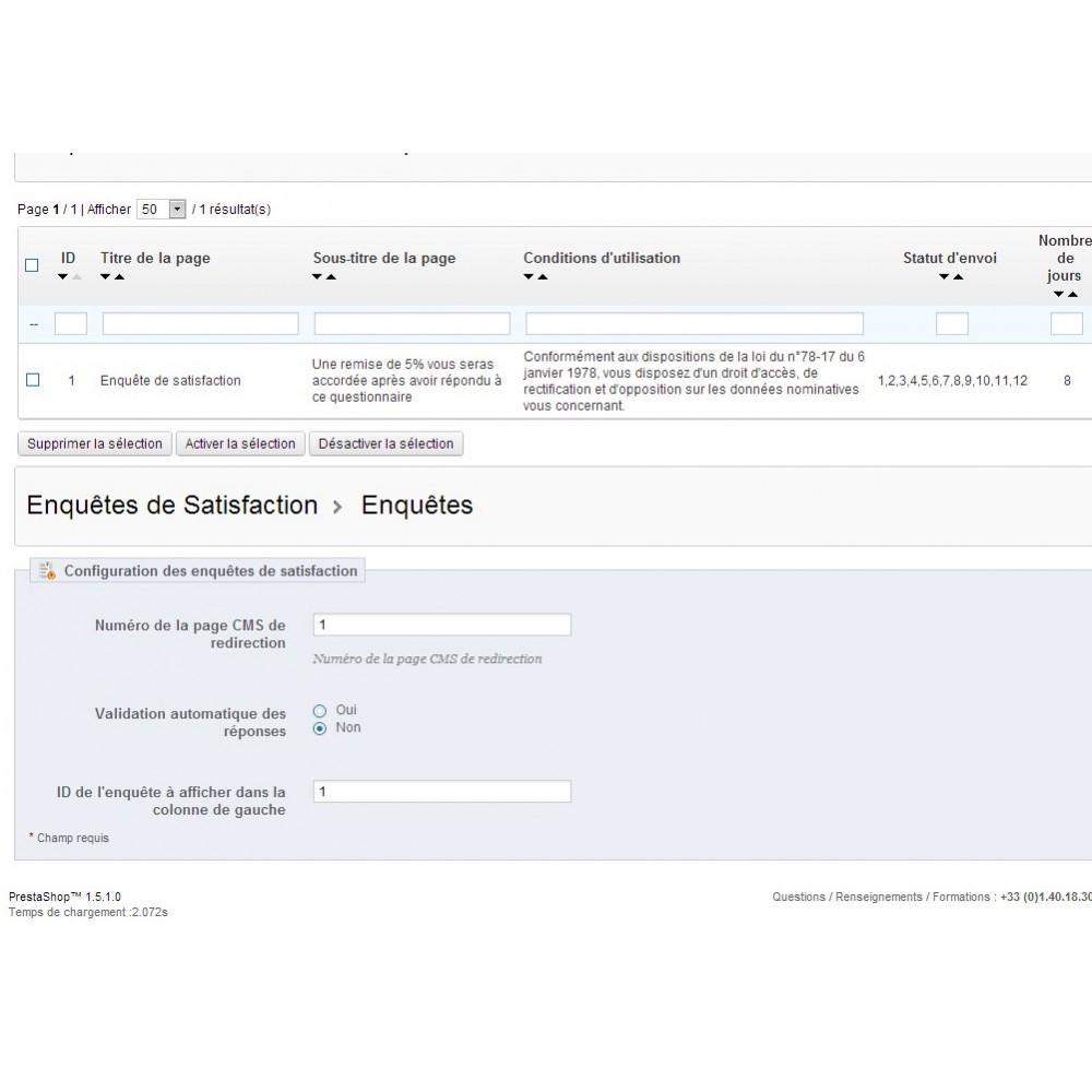 module - Formulaires de Contact & Sondages - Enquête de Satisfaction - 23