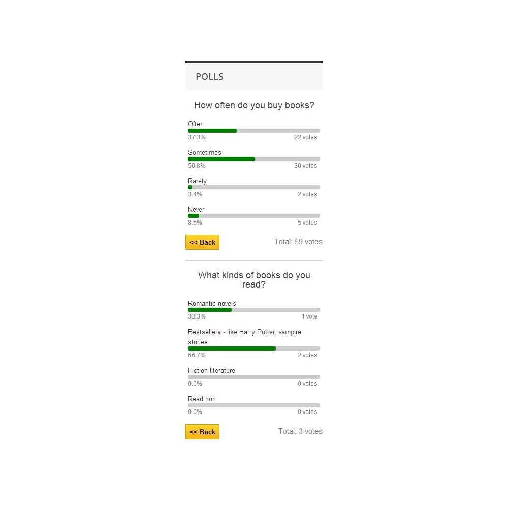 module - Kontaktformular & Umfragen - Poll Pro - 10