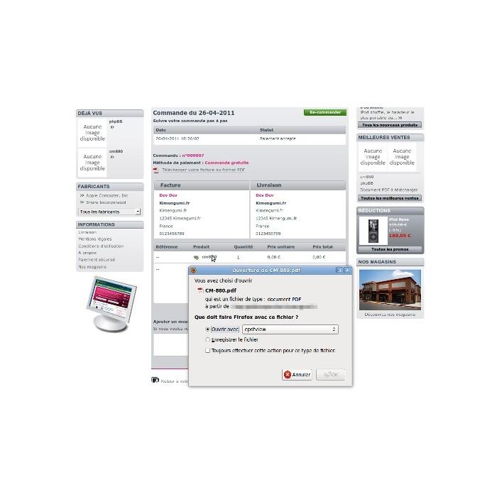 module - Sécurité & Accès - PDF Stamper - 4