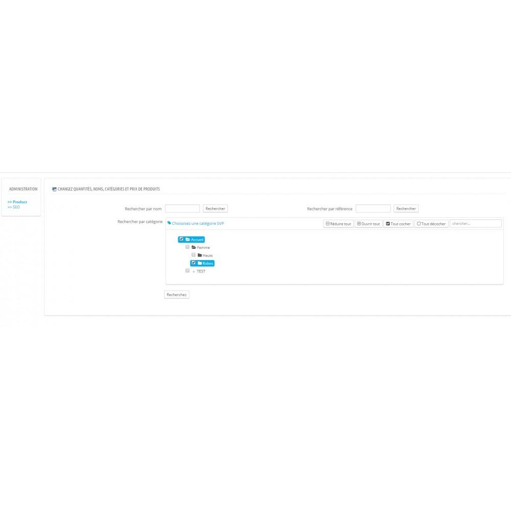 module - Edition rapide & Edition de masse - Fastmanager - administration en masse de vos produits - 1