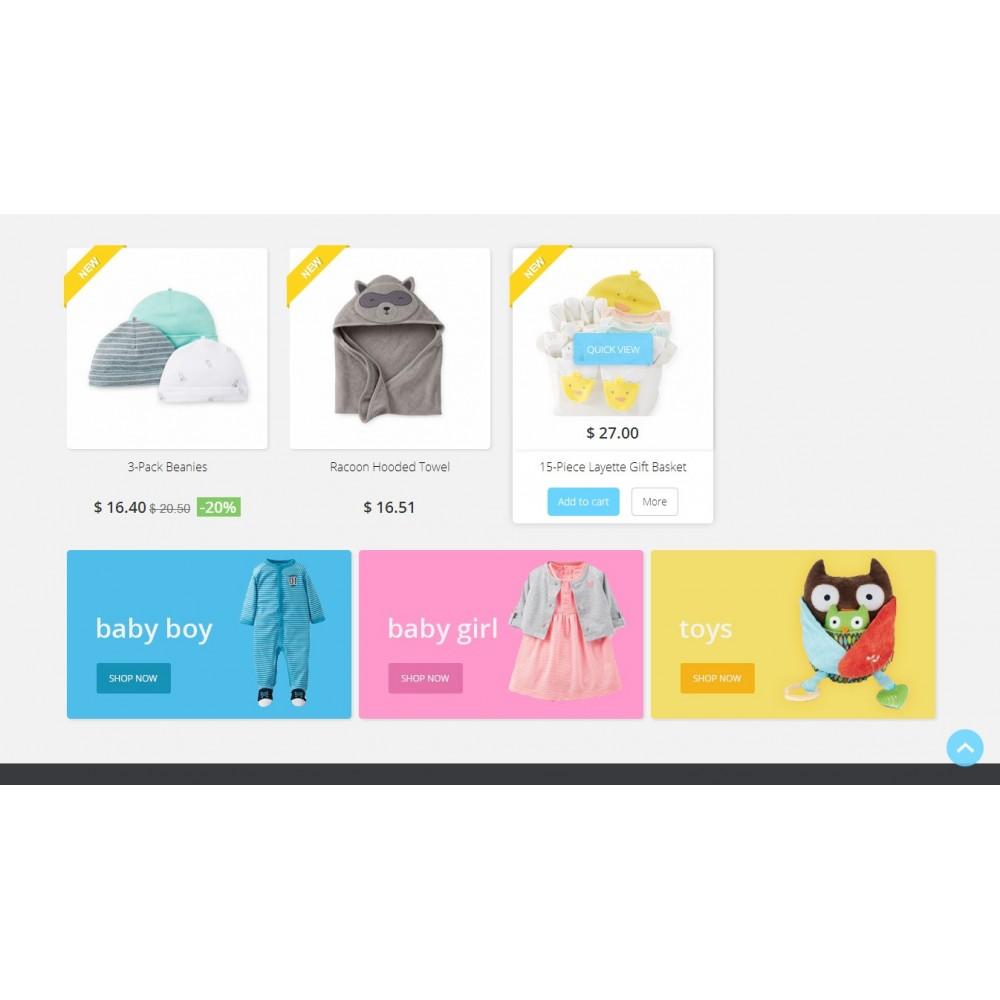 theme - Crianças & Brinquedos - Baby Market 1.6 Responsive - 3