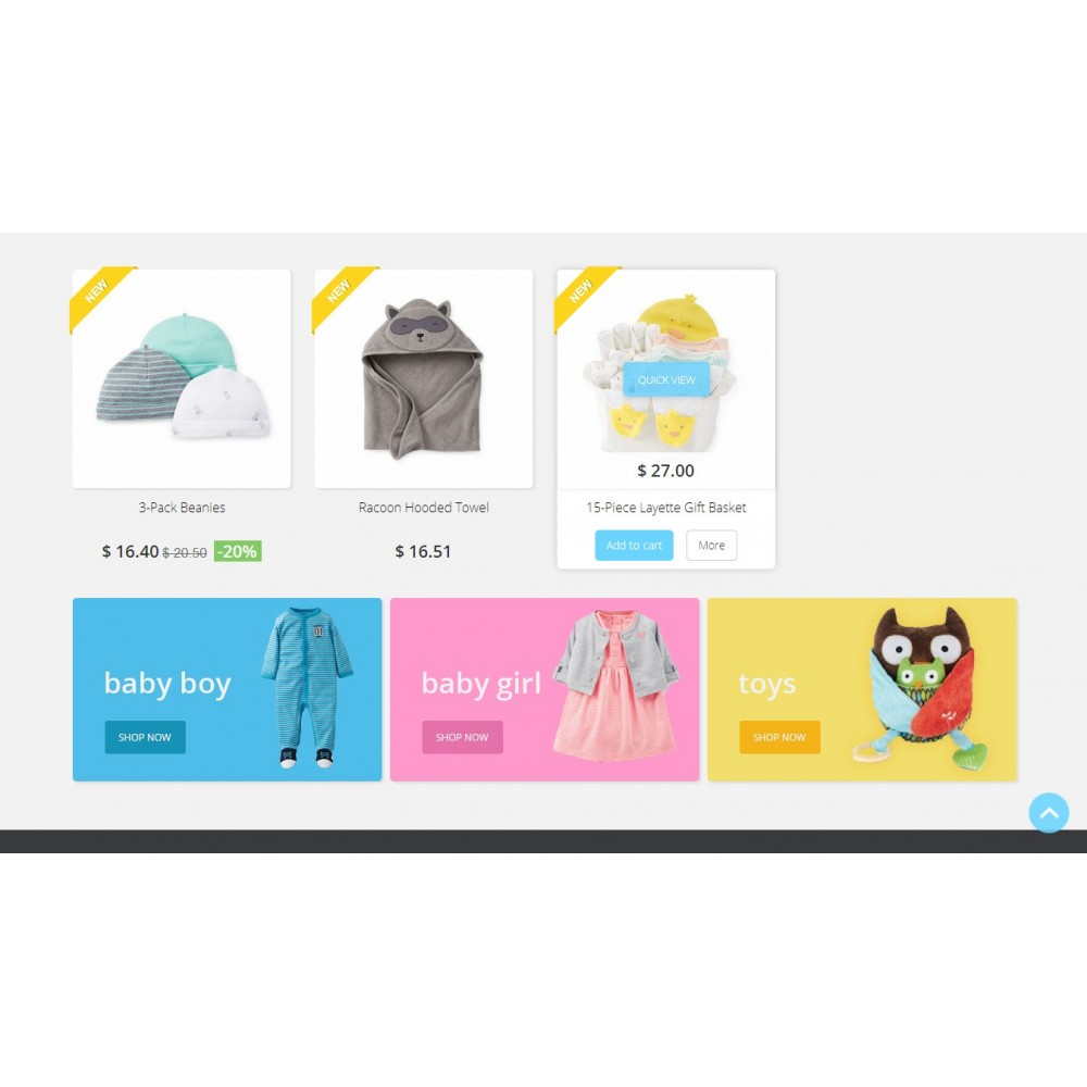 theme - Enfants & Jouets - Baby Market 1.6 Responsive - 3
