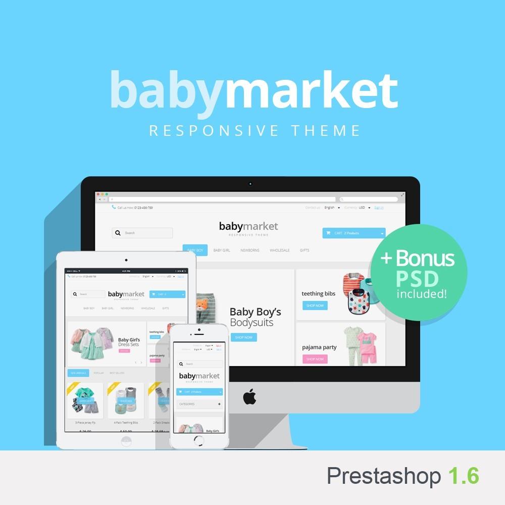 theme - Kinder & Spielzeug - Baby Market 1.6 Responsive - 1