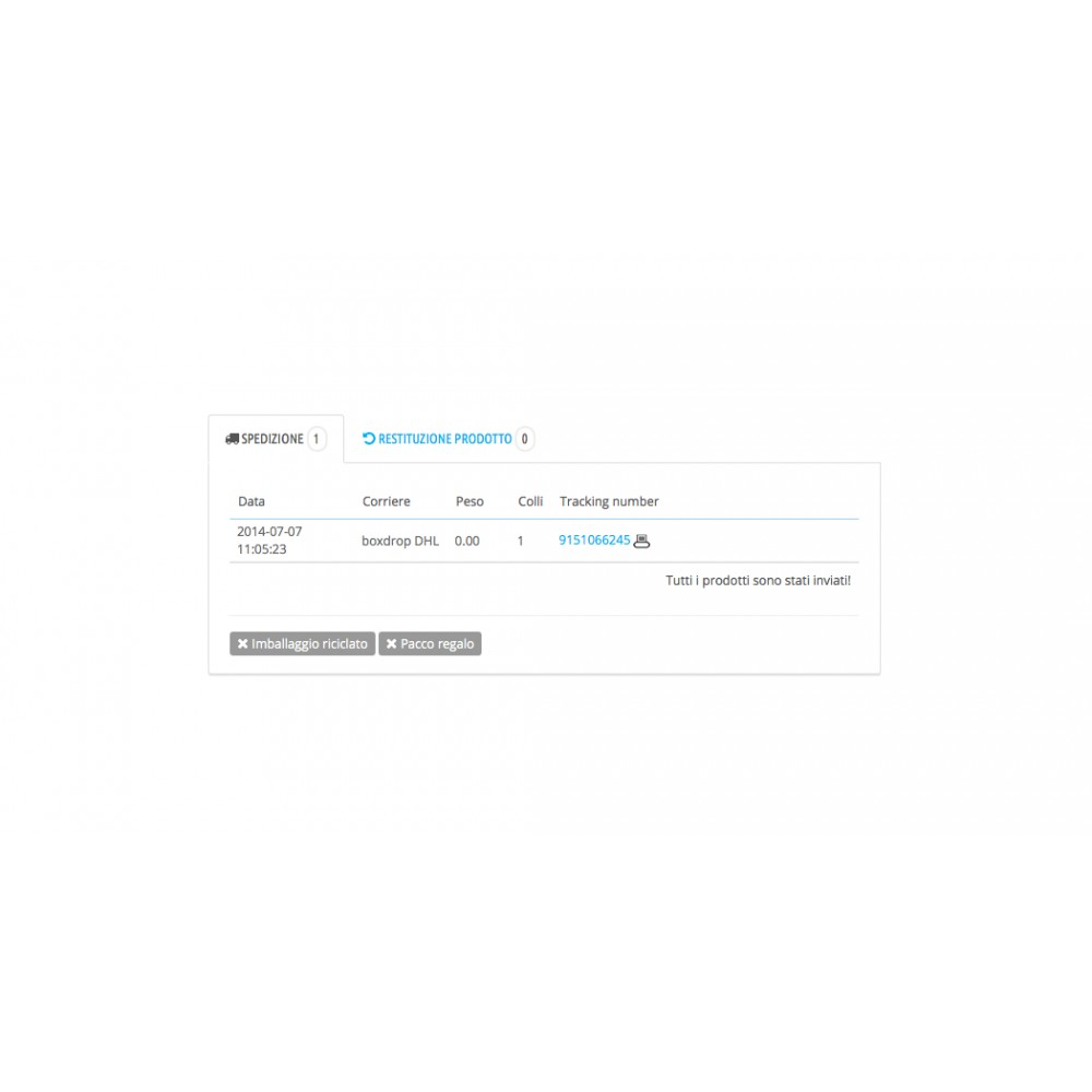 module - Corrieri - DHL eLogistics by boxdrop® - 3