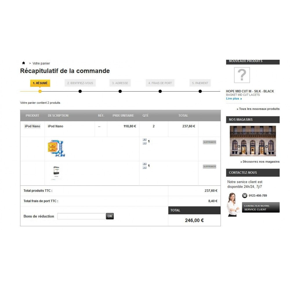module - Combinaciones y Personalización de productos - Upload pdf and zip on the product pages - 1