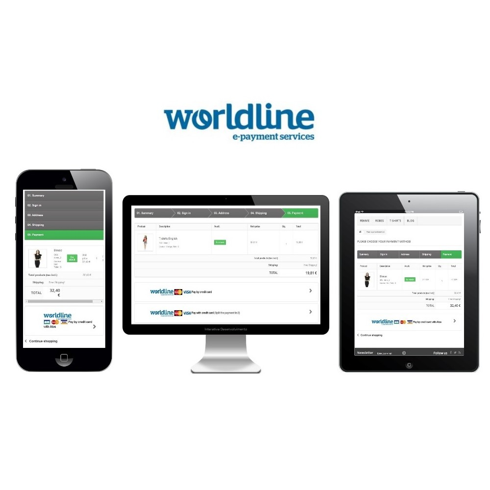 module - Payment by Card or Wallet - Sips 2.0 - Atos Worldline (1.5, 1.6 & 1.7) - 3