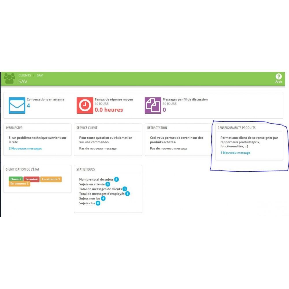 module - Formulaires de Contact & Sondages - Renseignements, questions, devis sur un produit - 7