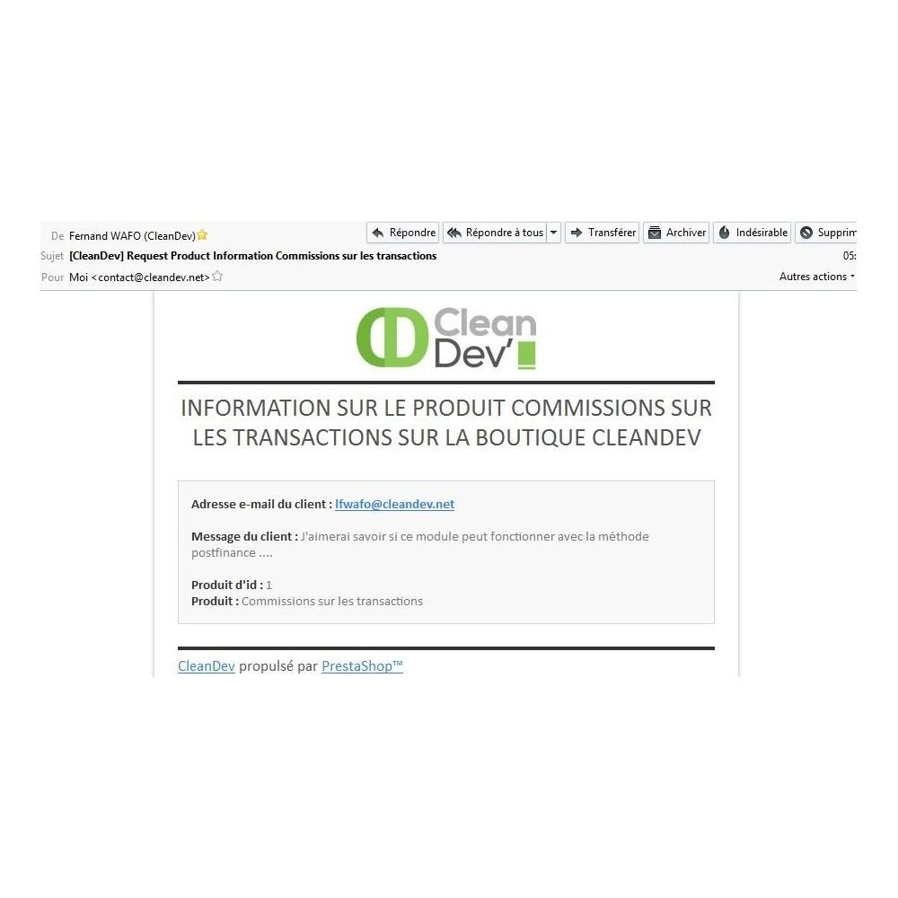 module - Formulaires de Contact & Sondages - Renseignements, questions, devis sur un produit - 10
