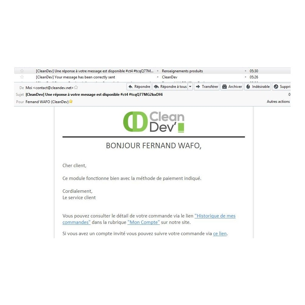 module - Formulaires de Contact & Sondages - Renseignements, questions, devis sur un produit - 6