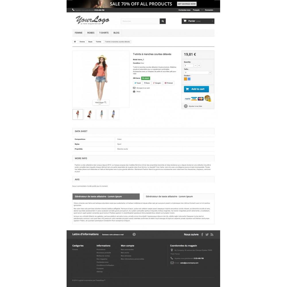 module - Information supplémentaire & Onglet produit - Onglets produits personnalisés - 1